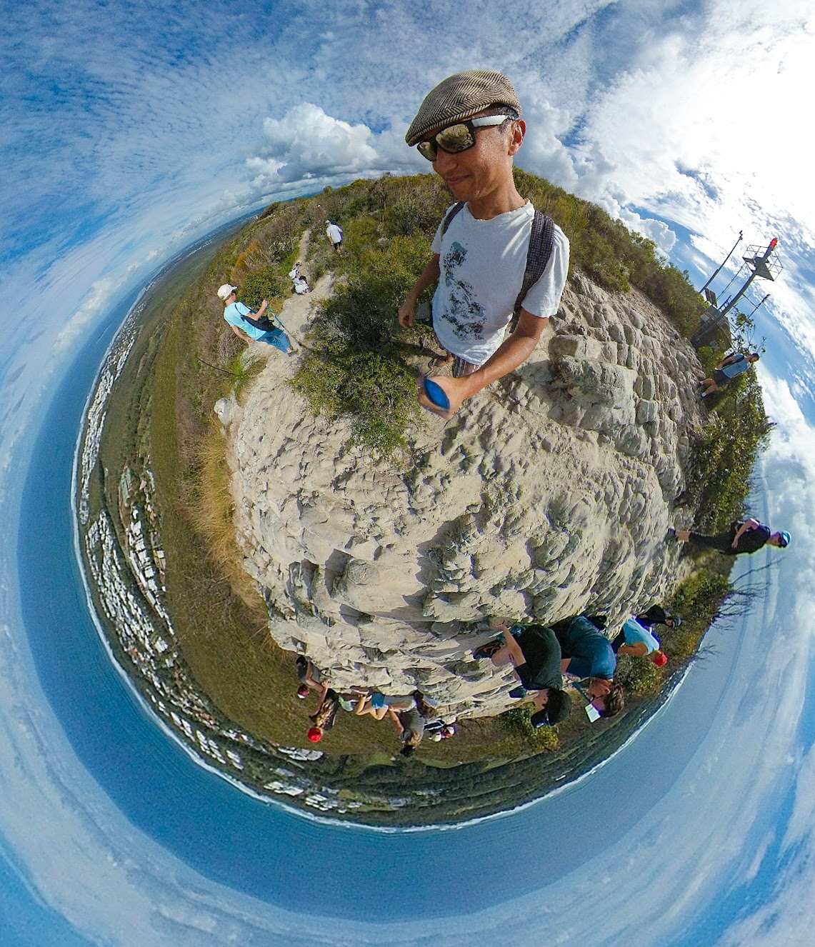 Google Street View trusted photographer Ric Tan on Mt Coolum